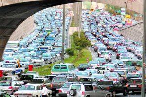 ترافیک تهران - tehran traffic