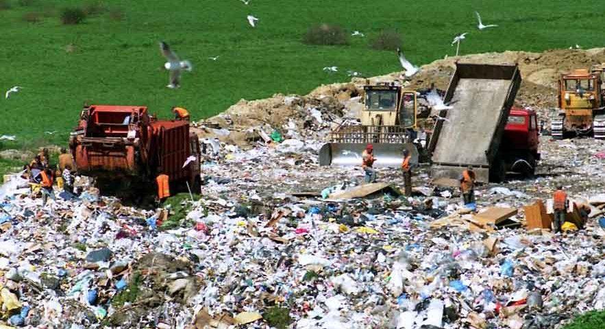 محل دفن زباله